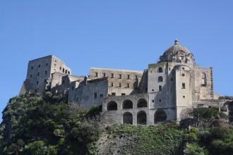 Aragonese Schloss in Insel Ischia
