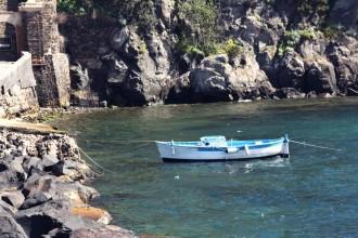 Boot in Ischia Ponte