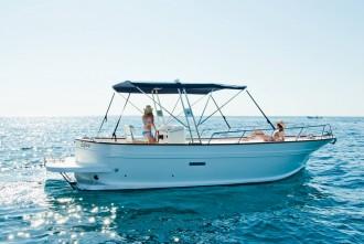 Inselrundfahrt mit Motorboot