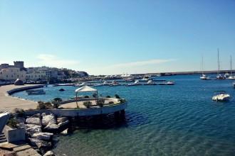 Hafen in die Gemainde Forio