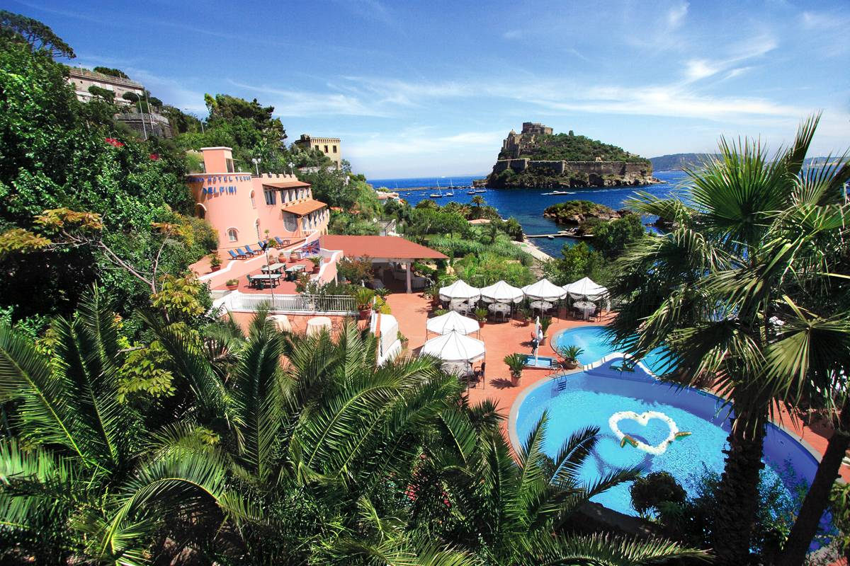 Strandhotel Delfini Cartaromana Ischia Ponte
