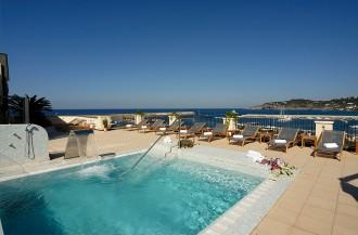Pool Terrasse Hotel Villa Carolina Forio