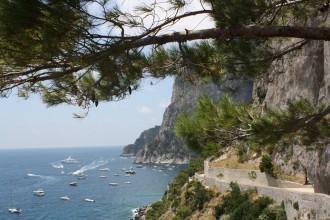 Ausblick auf Via Krupp bei Inselkombination Capri Ischia
