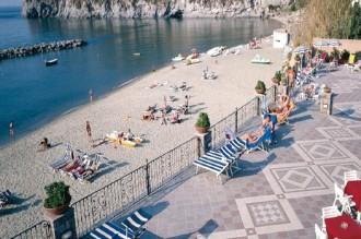Hotel Tritone -Strand