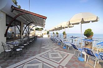 Hotel Tritone - Terrasse