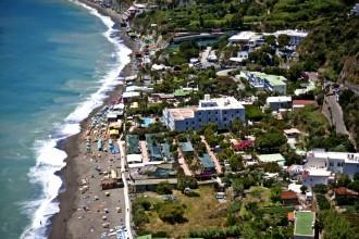 Strand in der Nähe Camping Mirage