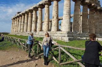 Frauenreise mit Besuch Tempelanlage Paestum