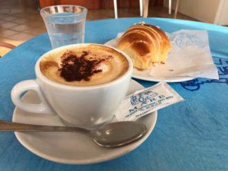 Sprachreise - italienisch Sprachkurs bei einem Espresso