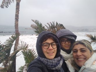 Ischia im Schnee