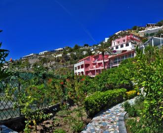 Hotel Casa Rosa Ischia garten