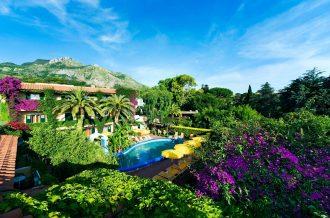 hotel villa angela ischia garten