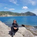 Ischia gelbe Zone in Italien